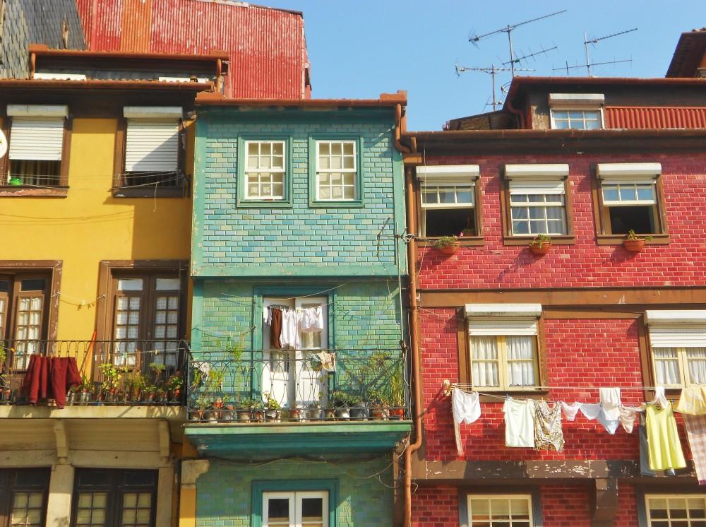 Houses in Porto, Portugal