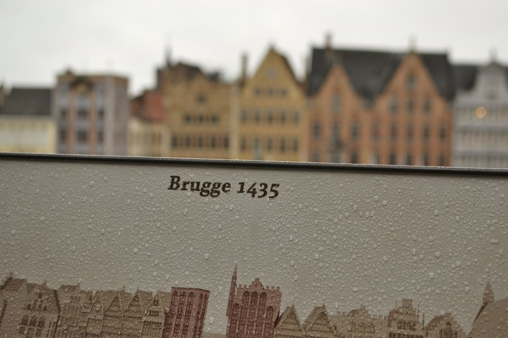 Bruges in the rain
