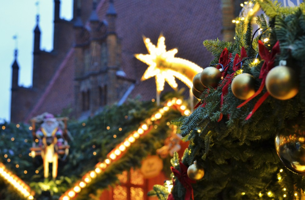 Christmas market in Hannover, Germany