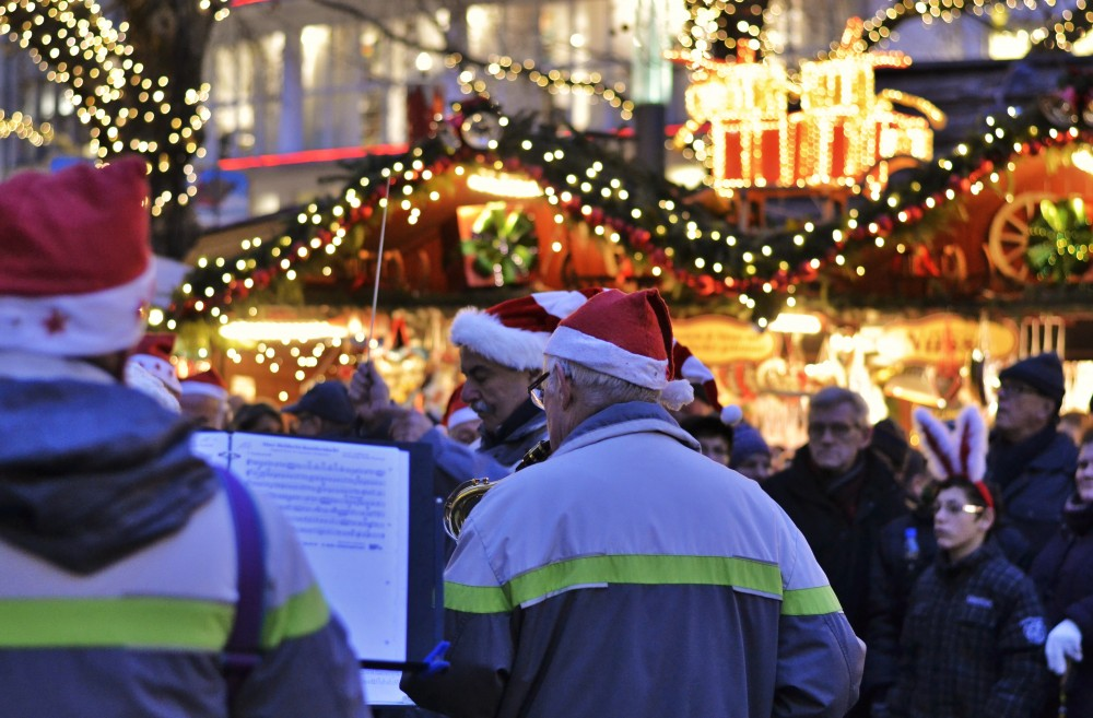Christmas market in Hanover, Germany