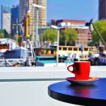 Coffee in Rotterdam, Holland