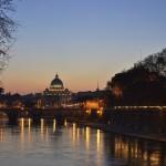Vatican at dusk, Rome, Italy