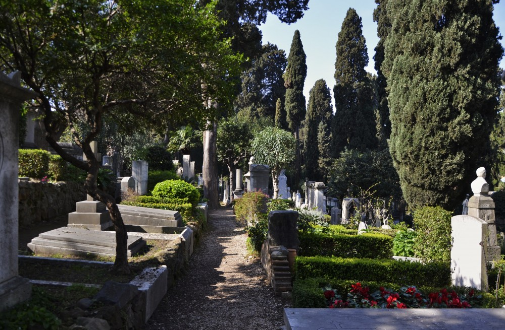 Catching my Breath in Rome – The Cimitero Acattolico