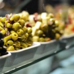 Olives in Madrid, Spain