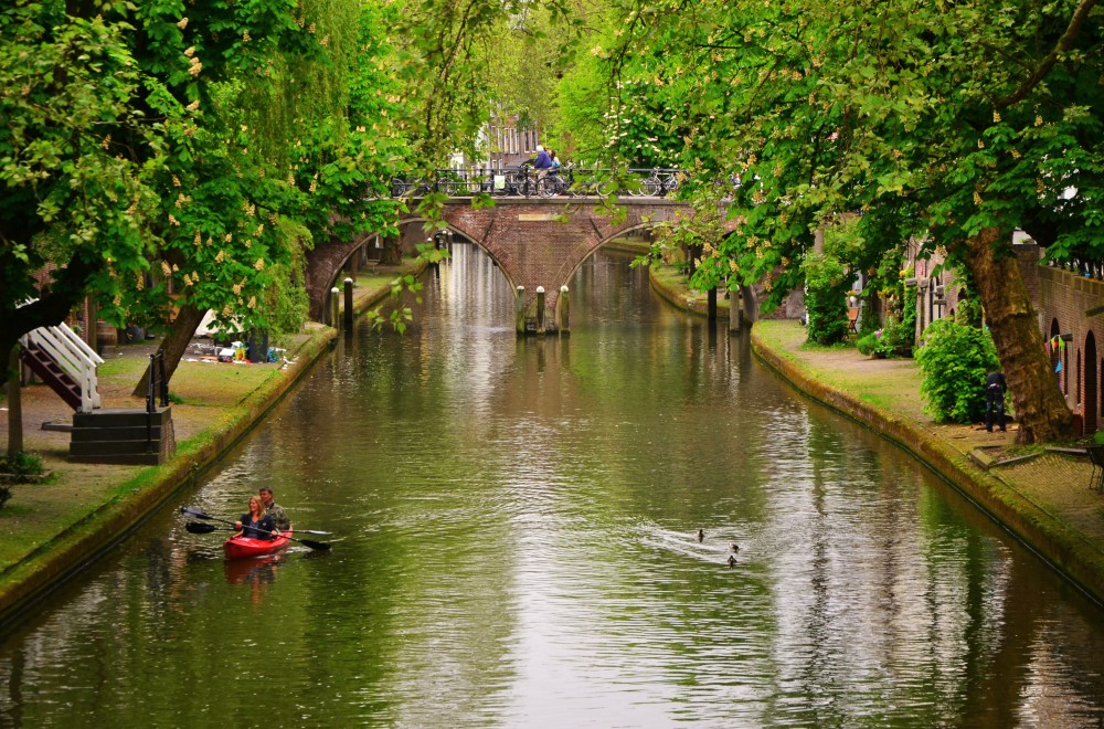 Solo travel in Utrecht, The Netherlands
