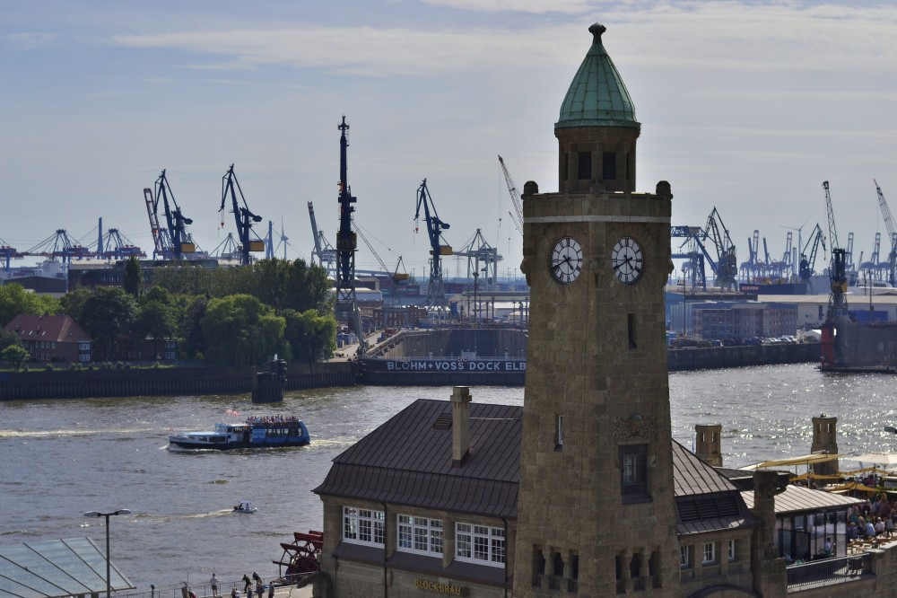Hamburg Harbor, Germany