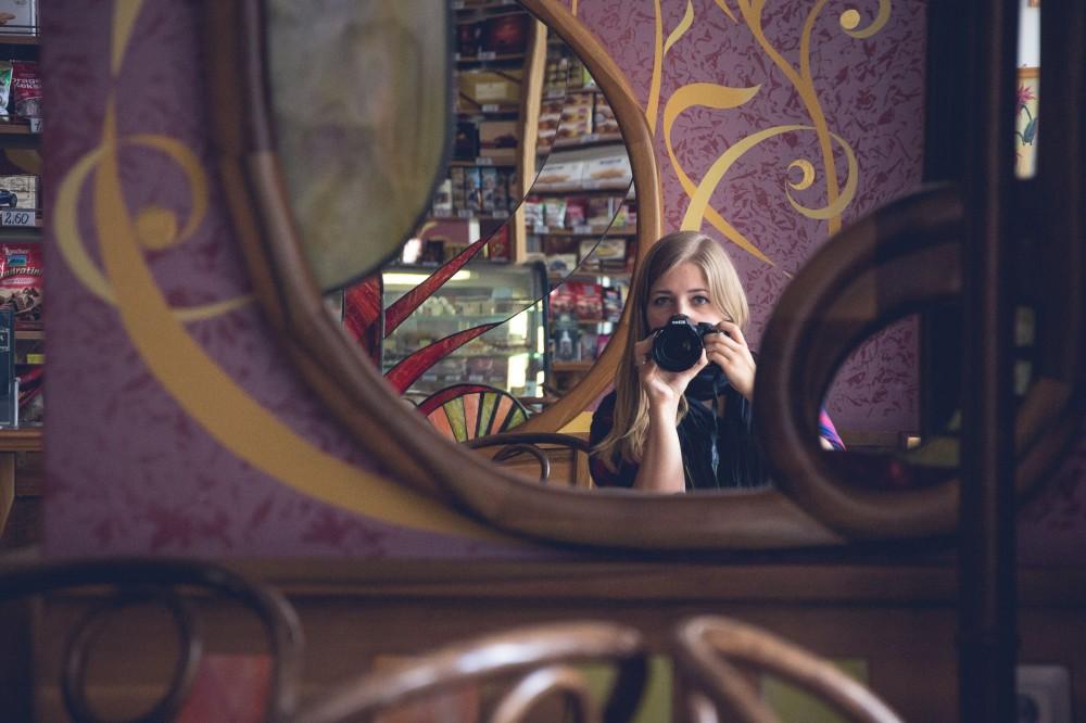 Art deco coffee house, Bratislava, Slovakia