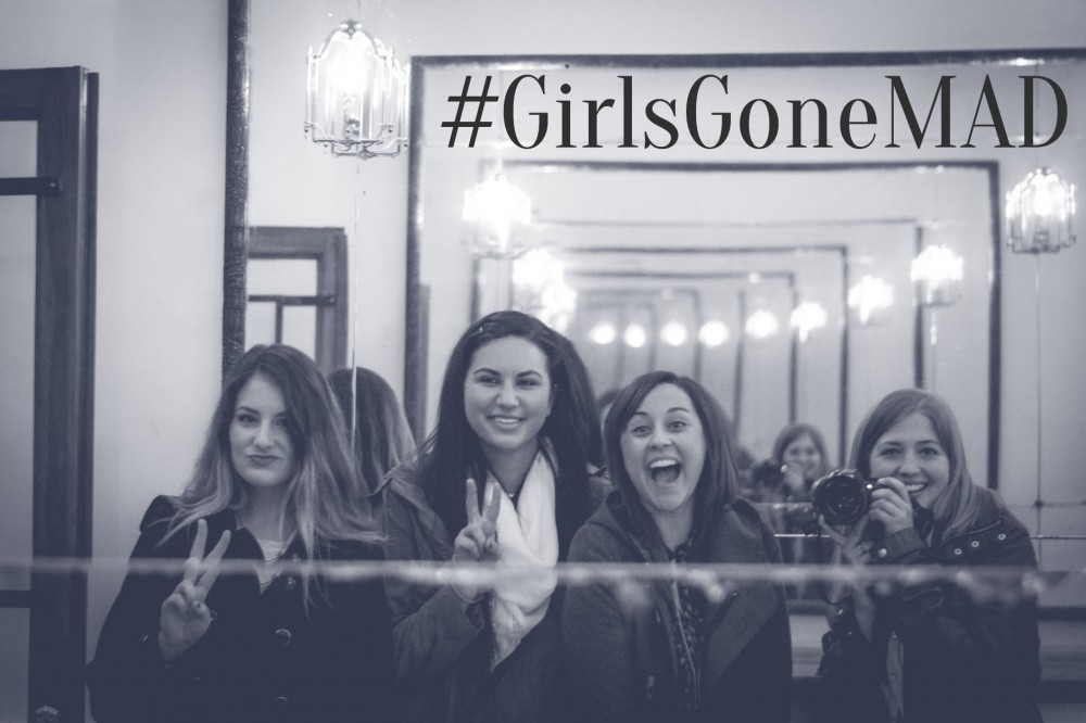 #GirlsGoneMAD in Madrid, Spain