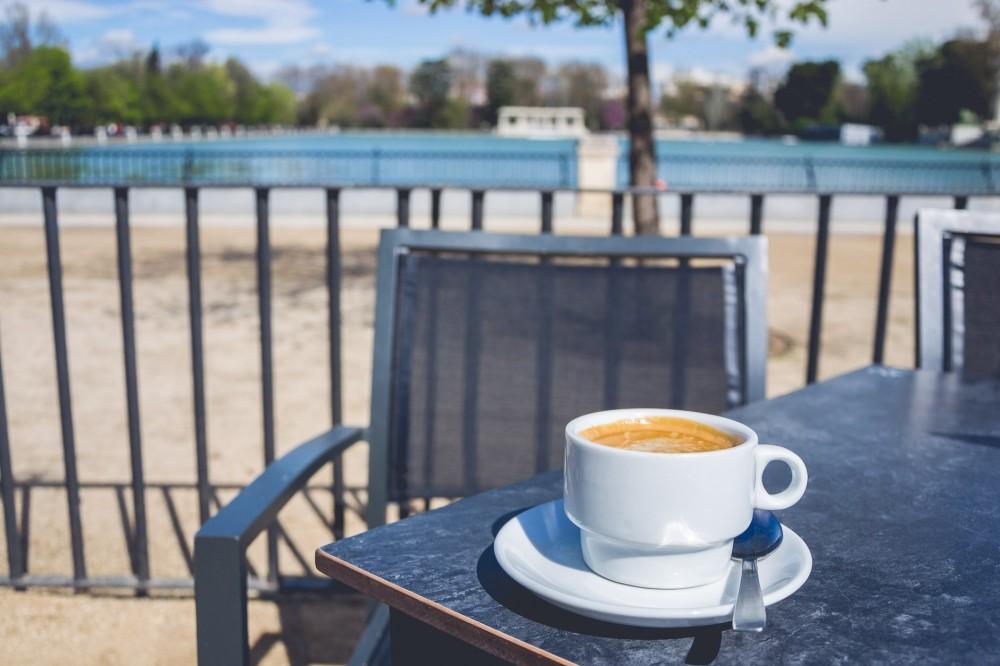 Coffee in Madrid, Spain