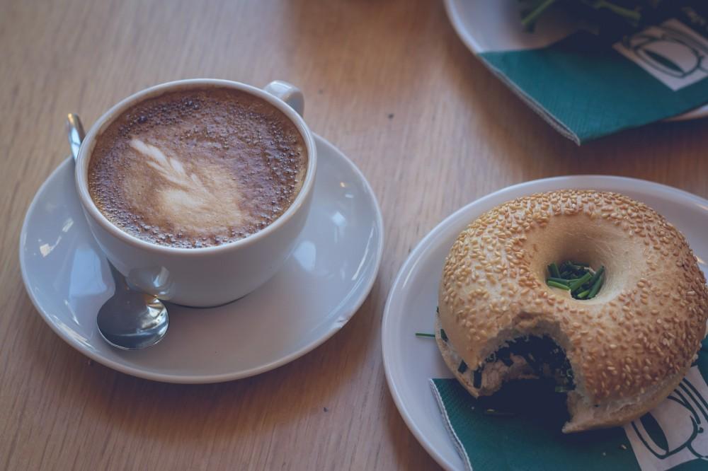 Coffee in Hamburg, Germany