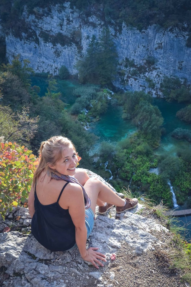 Julika at Plitvice Lakes, Croatia