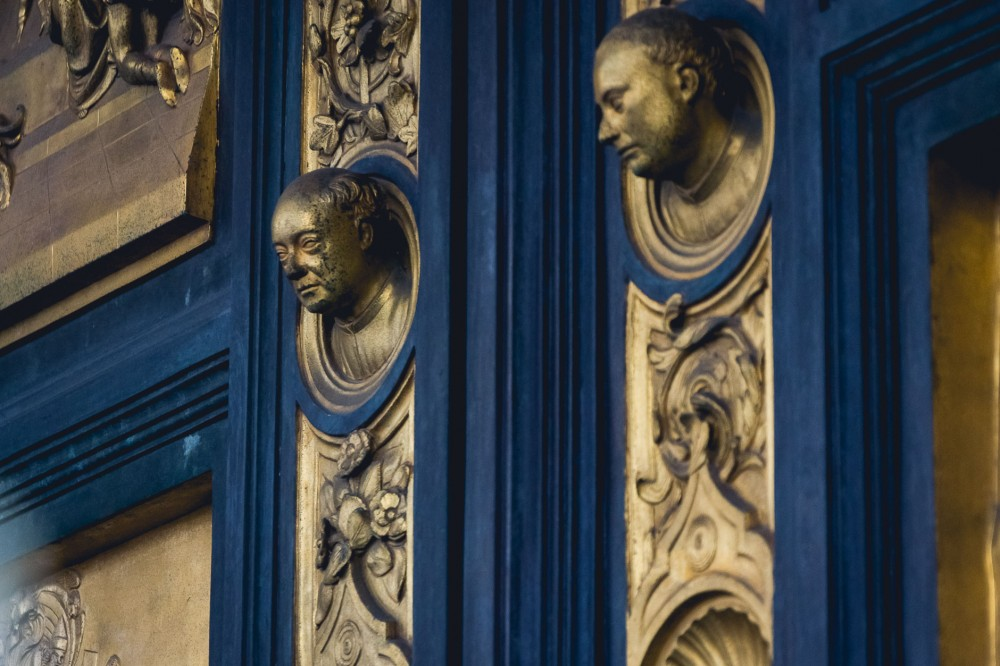 Paradise Door by Ghiberti in Florence, Italy