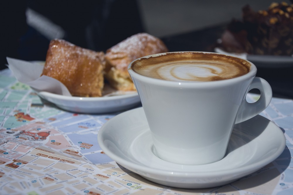 Coffee in Florence, Italy