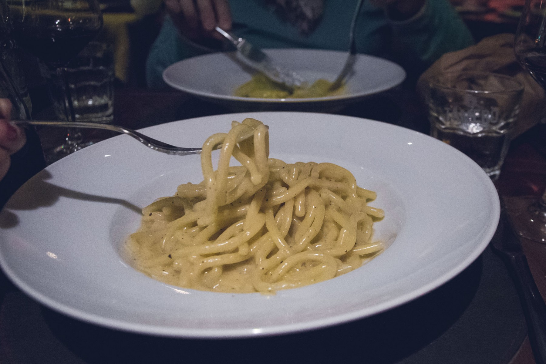 Pasta at Tamerò in Florence, Italy