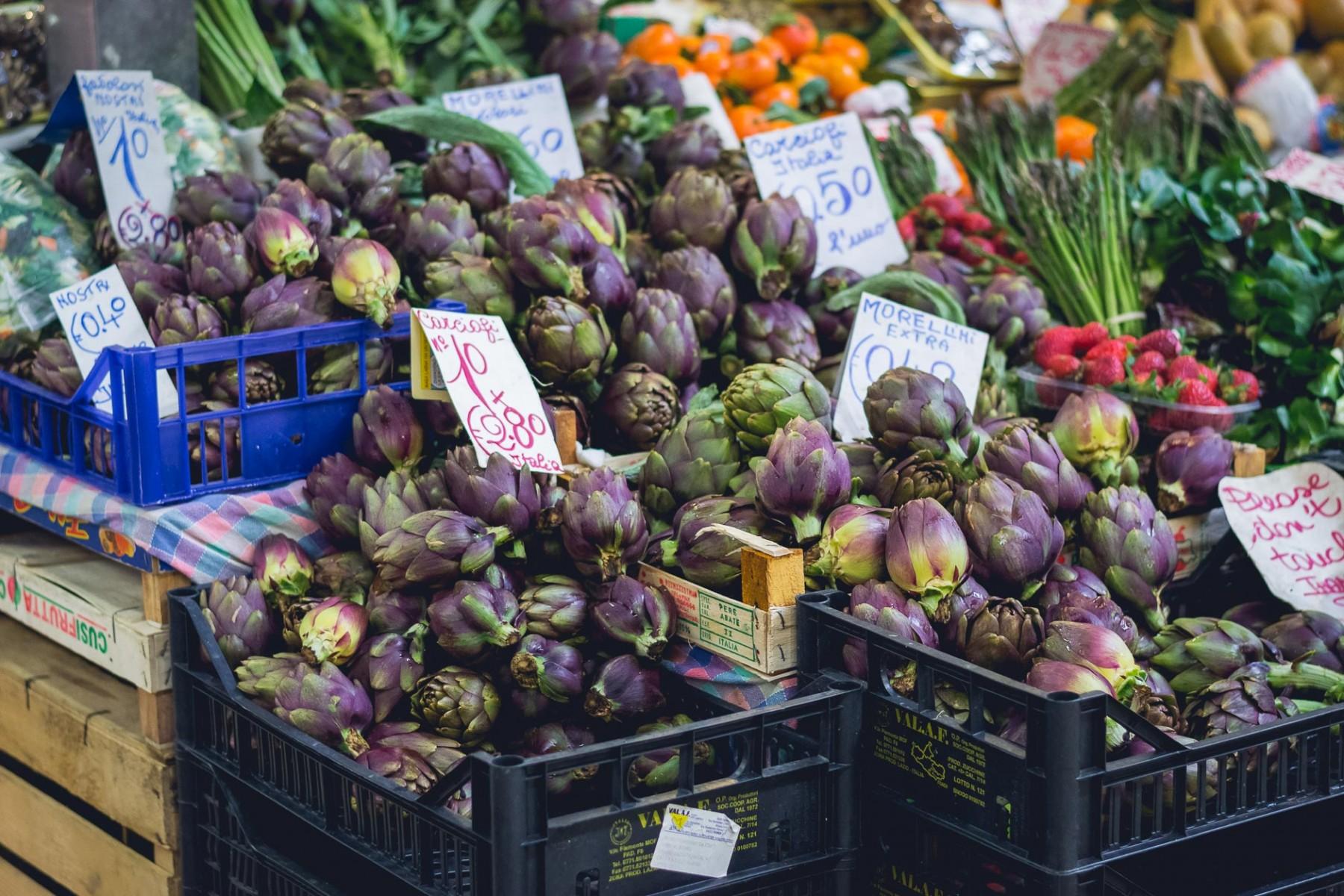 Mercato di San Lorenzo, Florence, Italy