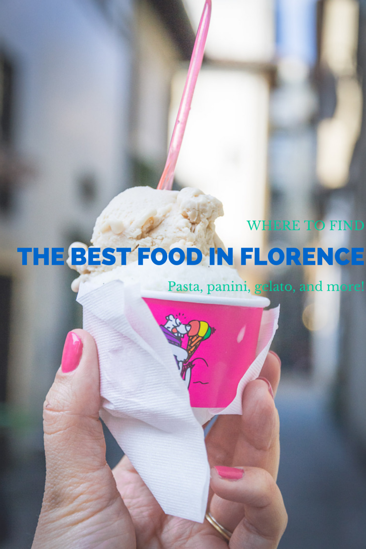 Where to find the best food in Florence, Italy: Gelato, pasta, markets, and more!