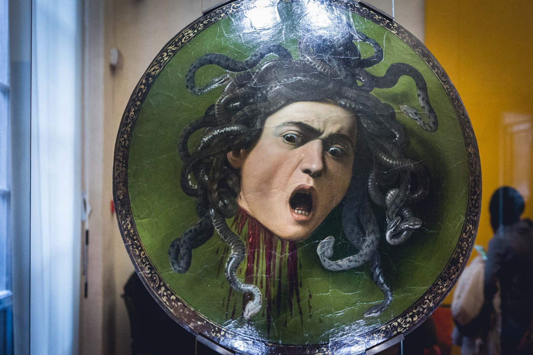 Caravaggio's Medusa, Florence, Italy