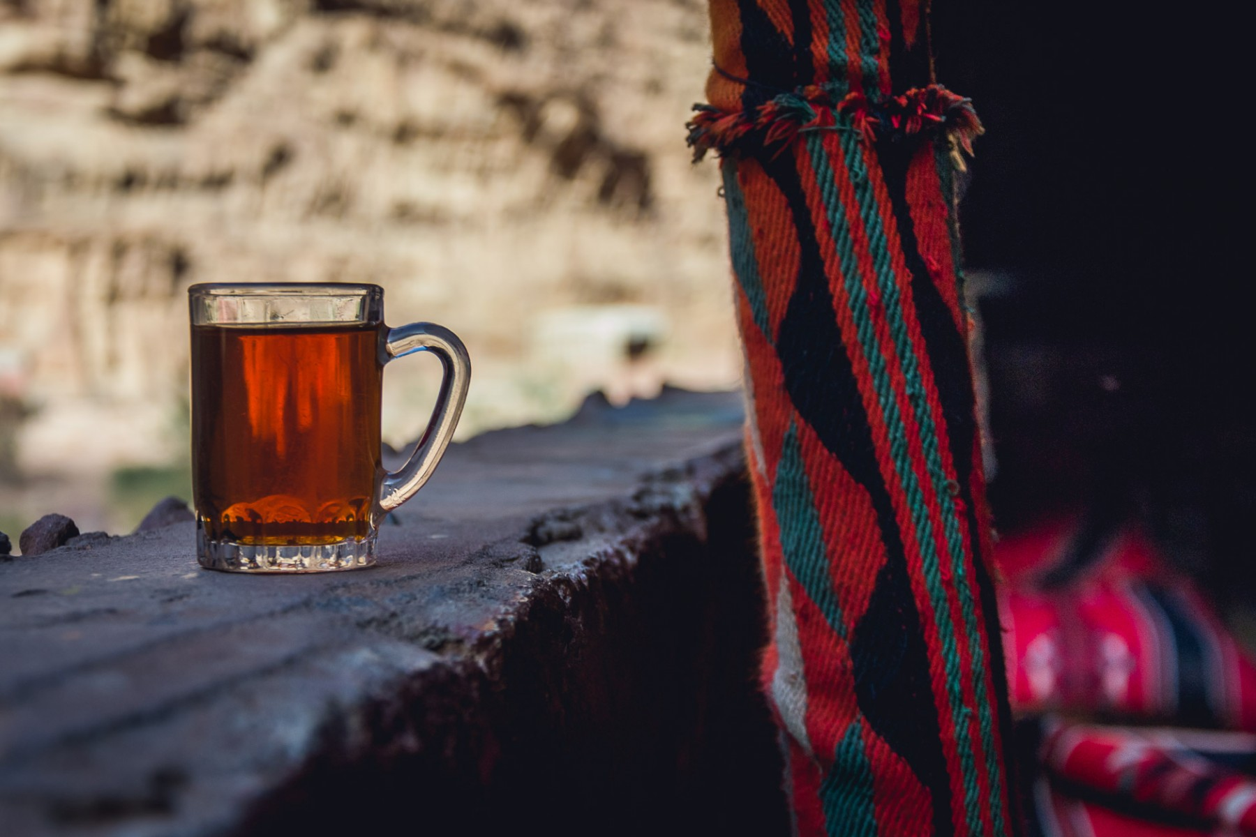Bedouin tea in Wadi Rum, Jordan