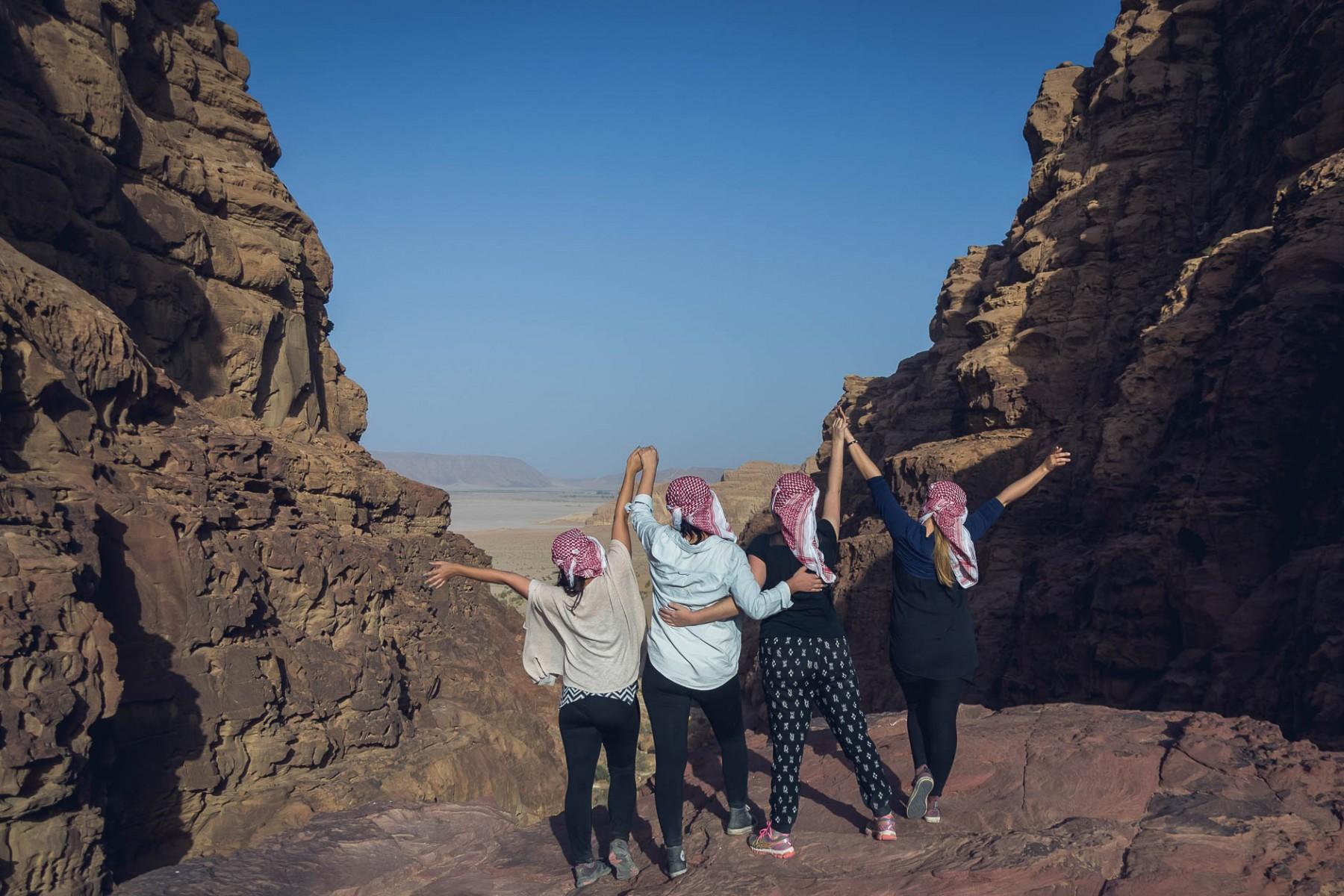 #GirlsGoneJordan in Wadi Rum