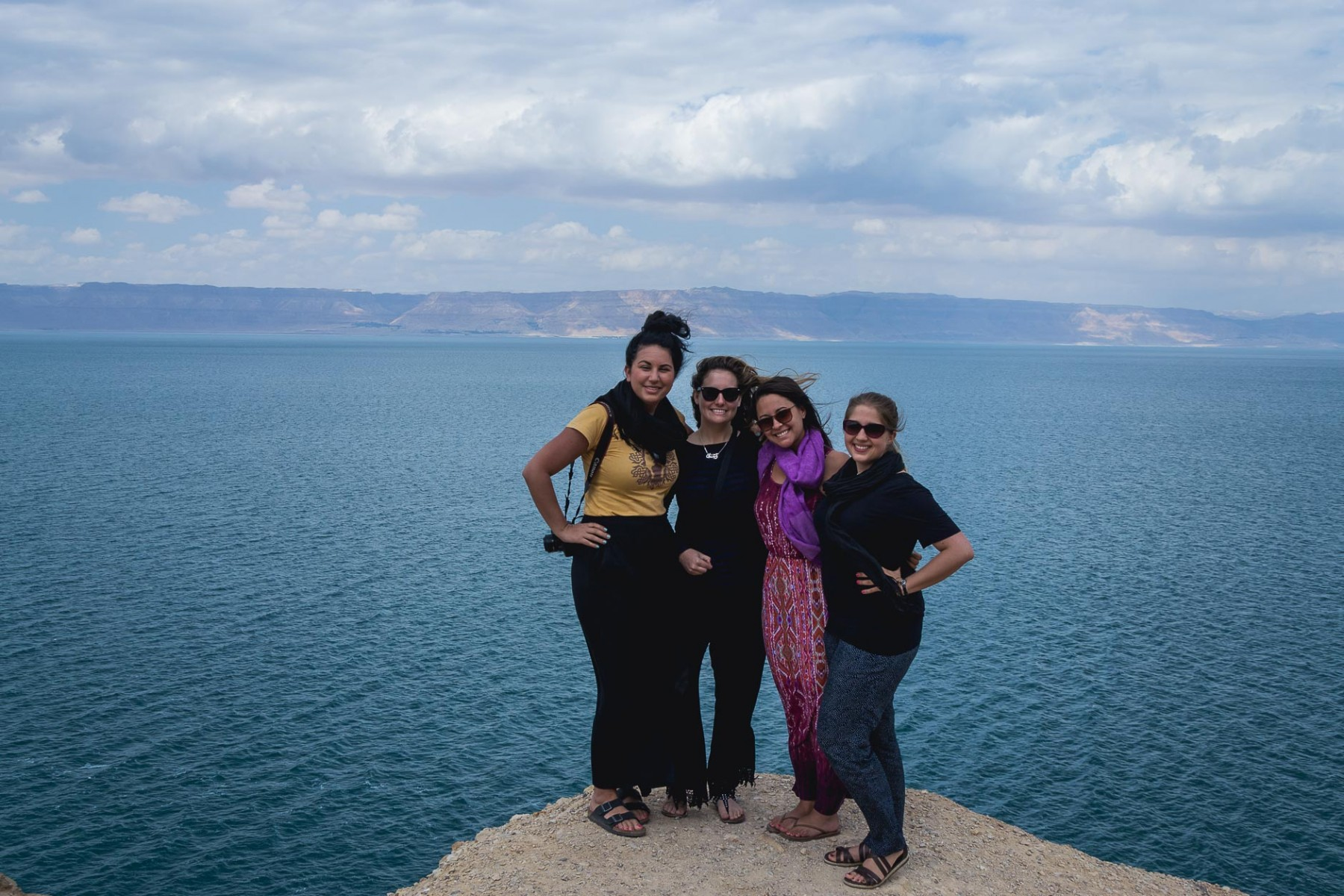 #GirlsGoneJordan by the Dead Sea