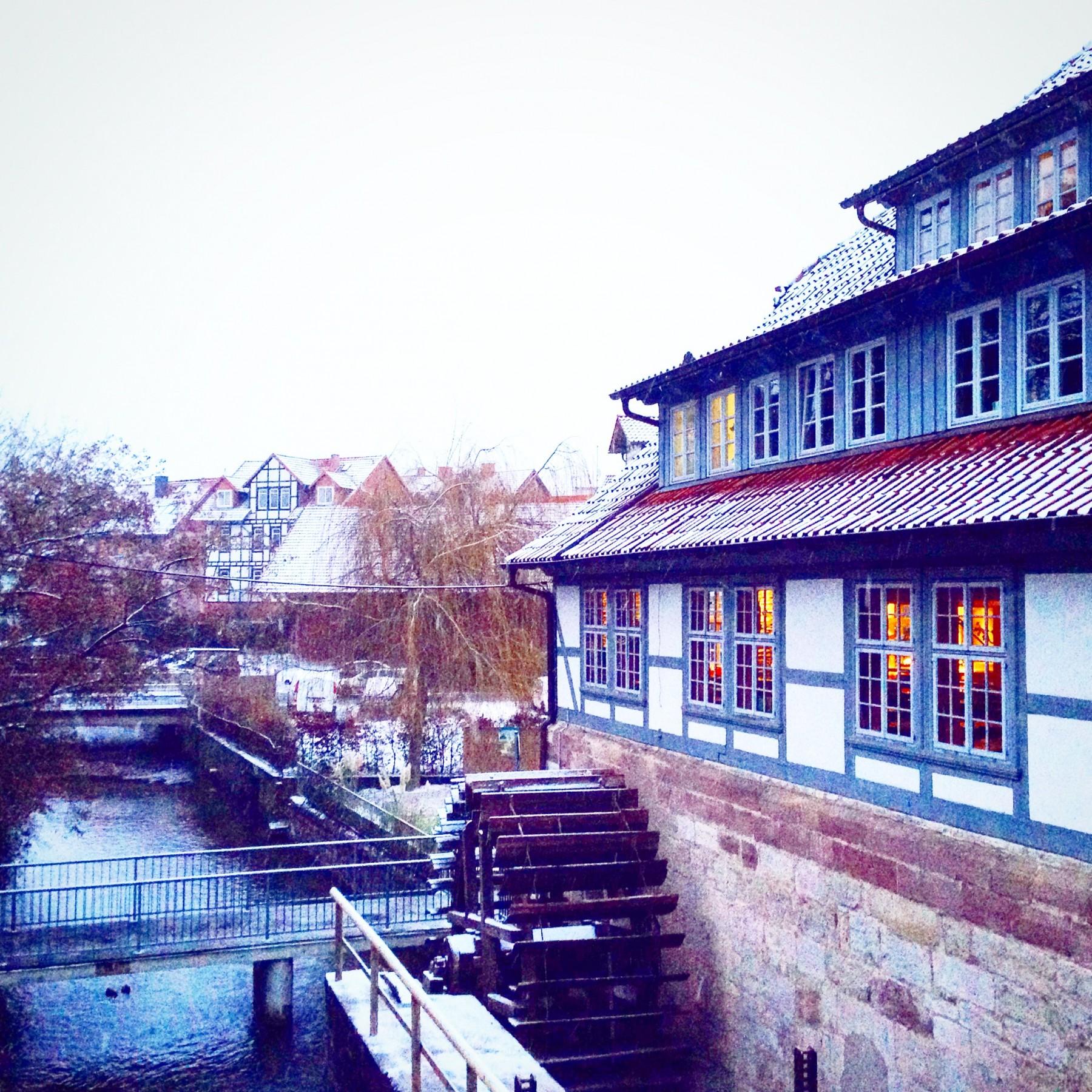 Winter in Göttingen
