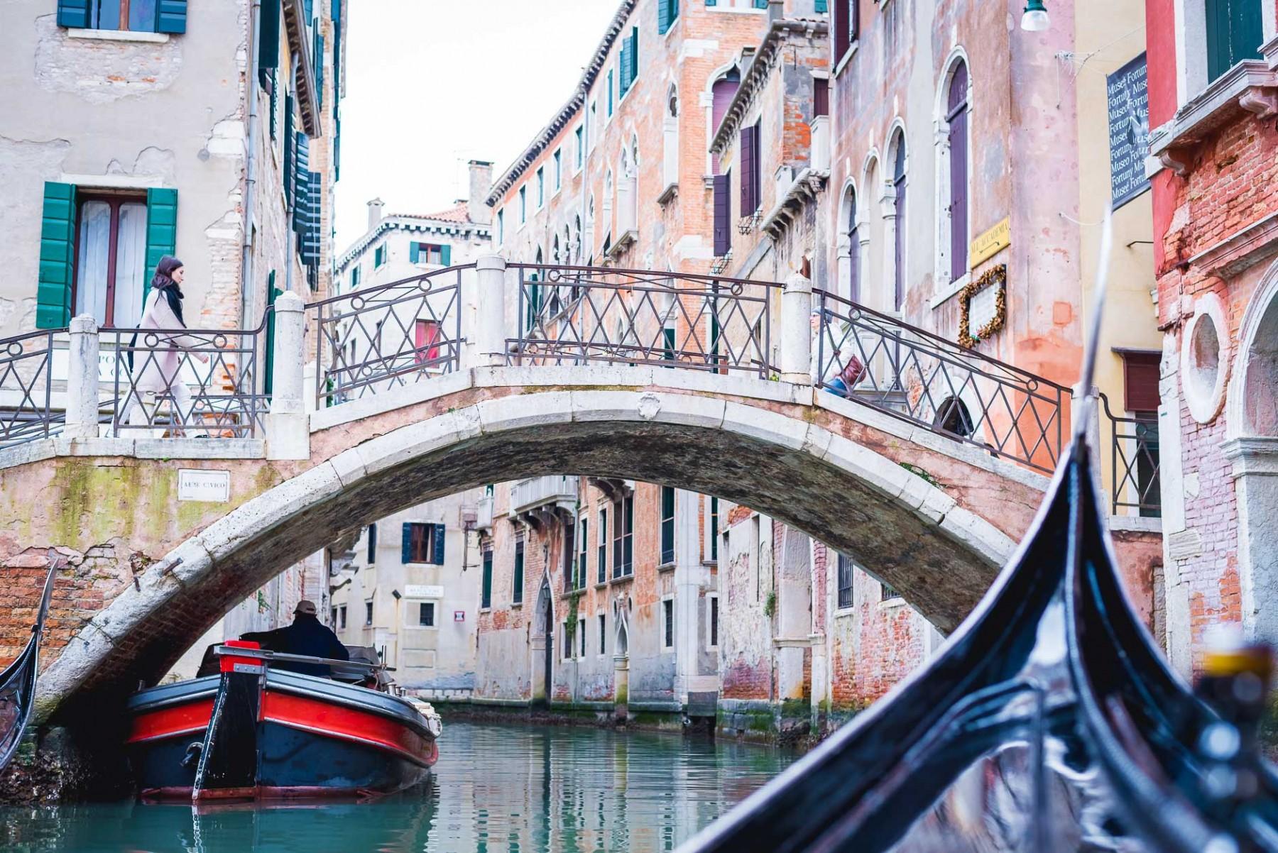 Gondola ride with Walks of Italy in Venice, Italy