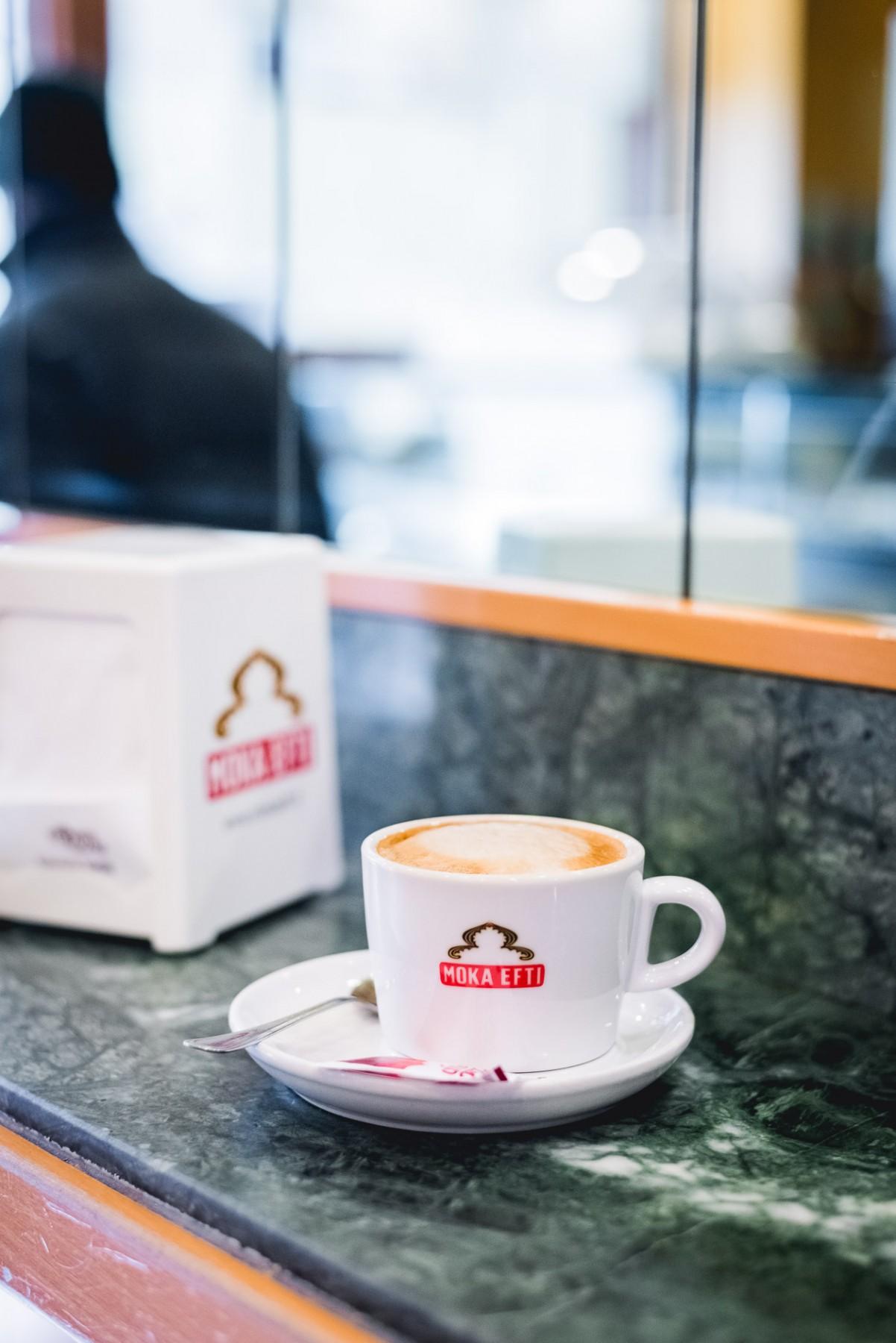 Cappuccino in Venice, Italy