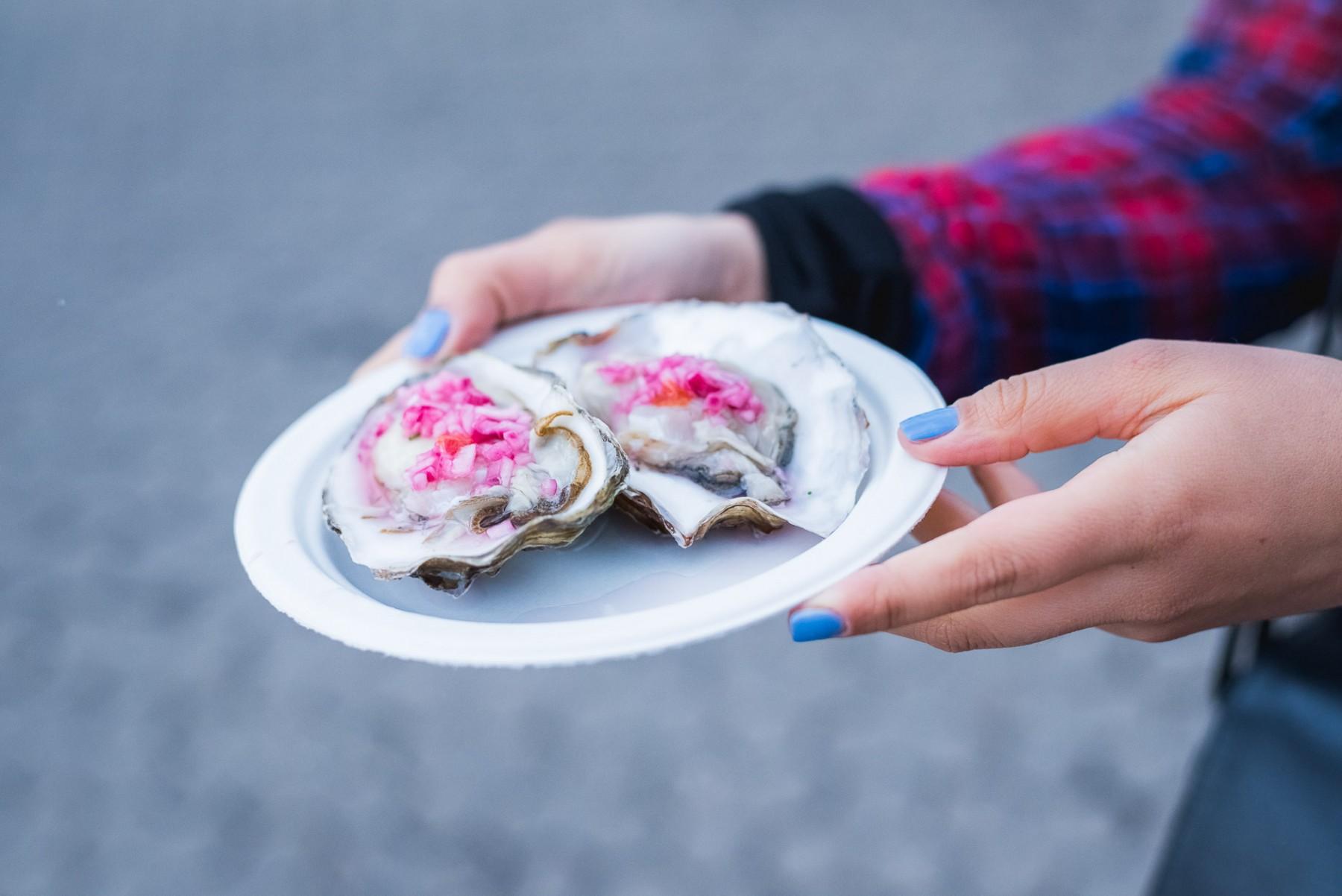 Oysters in Copenhagen, Denmark