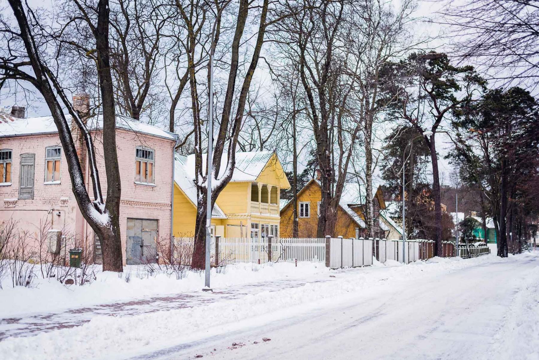 Jurmala, Latvia in January